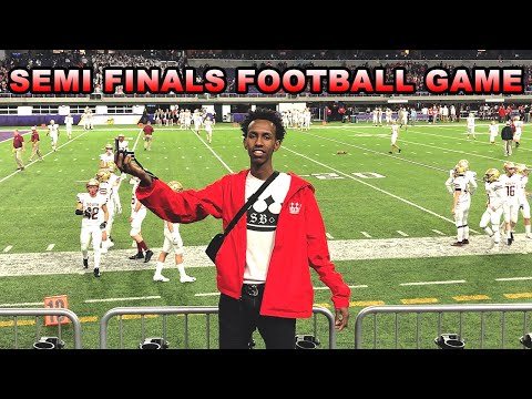 Willmar VS St. Paul Johnson's SEMI FINALS FOOTBALL GAME