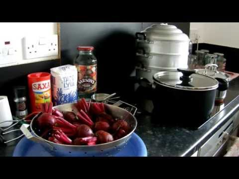 Garden Allotment - How to - Pickle Beetroot