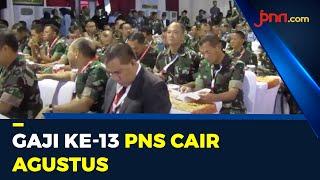 Kabar Gembira untuk TNI, Polri dan PNS soal Gaji ke-13 - JPNN.com