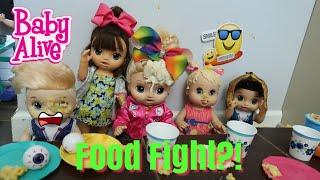 BABY ALIVE Cafeteria Drama baby alive School videos