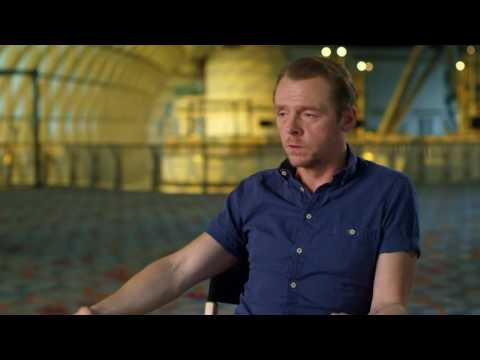 "Star Trek: Beyond: Simon Pegg ""Montgomery 'Scotty' Scott"" Behind the Scenes Movie Interview"