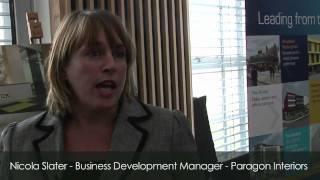 Nicola Slater, Business Development Manager, Paragon Interiors