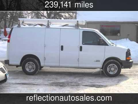 2006 Chevrolet 3500 Express Cargo Van W Duramax Sel Used Cars Oakdale Minnesota 2017 02 04
