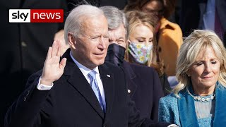 Joe Biden sworn in as 46th US President of the United States