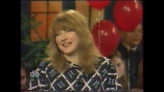 """Екатерина Семёнова в программе Дог-шоу """"Я и моя собака"""" примерно 1999 г."""