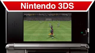 Pro Evolution Soccer 2011 3D - Nintendo 3DS - Trailer