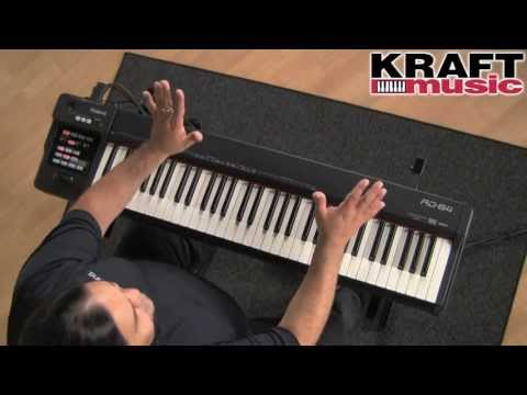 Kraft Music - Roland RD-64 Digital Piano Demo with Ed Diaz