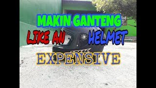 TUTORIAL ganti custom flat visor pada helm INK CL - MAX 2018