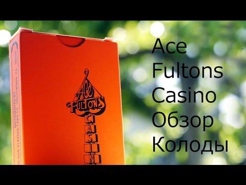 Обзор колоды Ace Fultons Casino // Deck Review