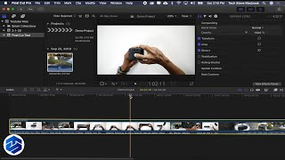 FINAL CUT PRO X Workflow For Beginner Tutorial