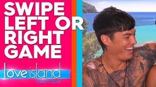 What do you swipe in a guy/girl? | Love Island Australia 2019