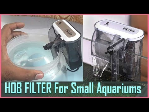 XP-03B Small Hang On The Back( HOB) Filter For Betta Fish Tank Aquariums UNBOXING & Review