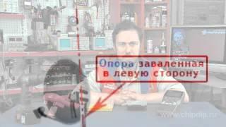 видео Устройство для подбора положения точки питания антенны