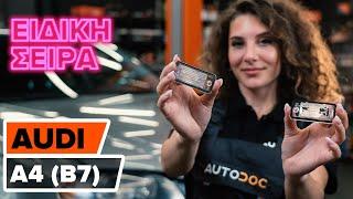 Συντήρηση Audi A4 b6 - εκπαιδευτικό βίντεο