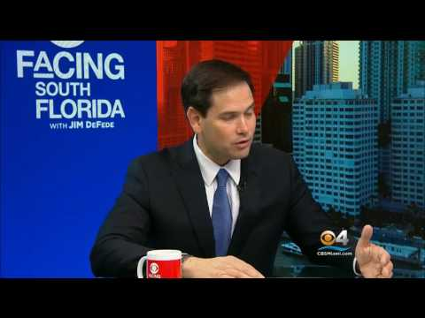 Rubio discusses Senate Intelligence Committee's investigation into Russia