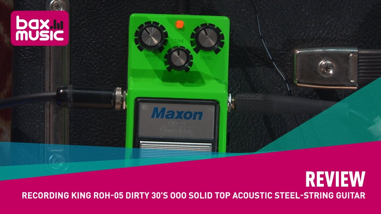 Review - Maxon OD9 overdrive pedal