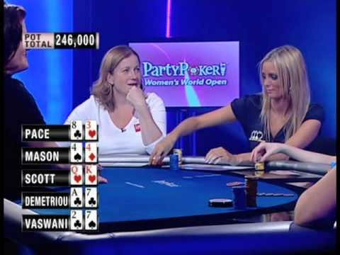 World Women's Open Poker joke