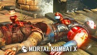 Mortal Kombat X Cosplay Chestburster Alien Secret Brutalities - MKX Facehugger Secret Brutalities