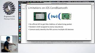 BLE Localisation and Control - iOS Dev Scout
