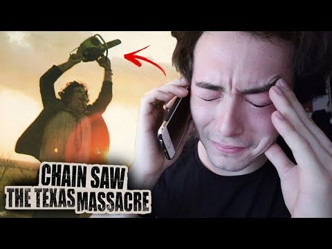 CALLING TEXAS CHAINSAW LEATHERFACE AT 3AM!! (GONE WRONG)