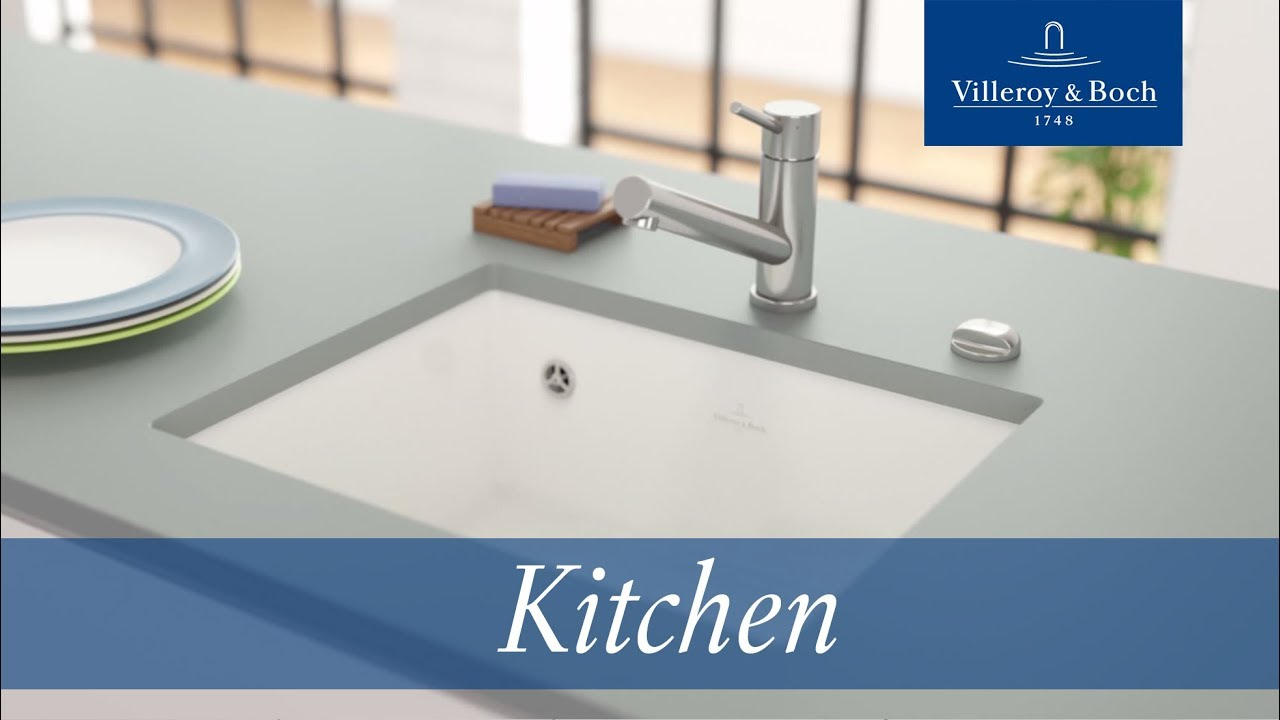 Installation Undercounter Kitchen Sinks Villeroy Boch