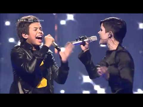 DK X Factor 2011 Live show  The Final  Aqua feat  Babou