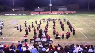 Ardmore High School Marching Band 10-6-2012