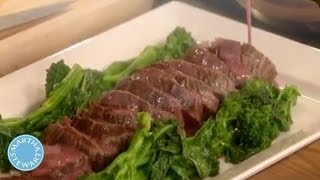 Roasted Beef Tenderloin With A Red Wine Butter Sauce - Martha Stewart