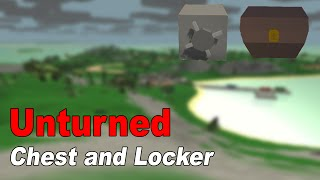 Unturned Crafting: Chest And Locker/safe