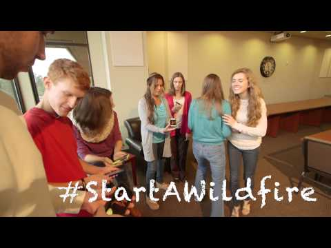 #StartAWildfire  – Promo for Young Adult Event Nov. 6-7, 2015 Gladstone, Oregon. Version 2