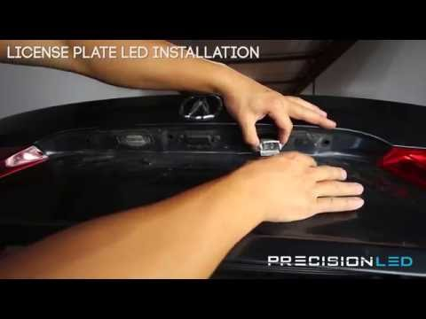 Acura TSX LED Interior Lights How To Install – 1st Generation 2004-2008