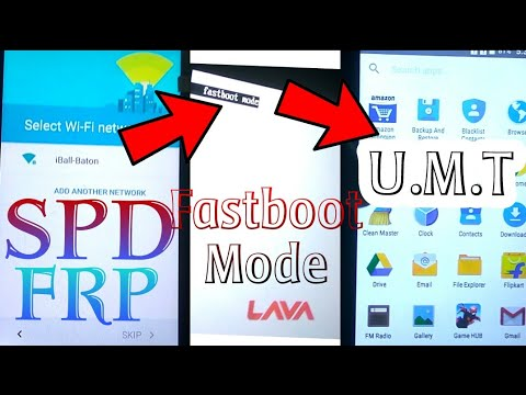 SPD (Fastboot Method) FRP UNLOCK in UMT   Lava A79 FRP Remove Done in UMT