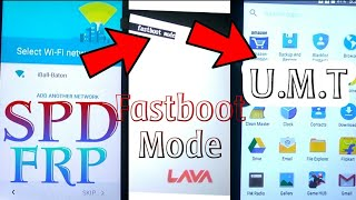 Lava A79 FRP Remove Done in UMT with fasboot mode