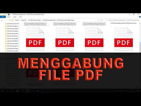 Menggabung File PDF