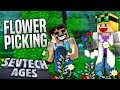 Minecraft - FLOWER PICKING -  SevTech Ages #27