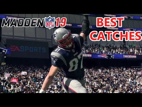 MADDEN 19 BEST CATCHES COMPILATION (COMMUNITY FOOTAGE)
