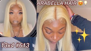 BOLD AND BLONDE, GREAT QUALITY BLONDE WIG FROM ARABELLA HAIR, THICK DENSITY & AFFORDABLE 🤩❤️🔥😍