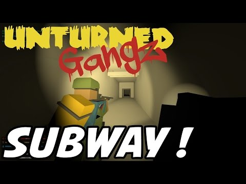 UNTURNED GangZ - Russia Subway & Sewers!! - S2E03 (Gang PvP / Pranks)