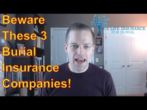 BEWARE These Burial Insurance Companies!