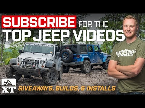 💥SUBSCRIBE for Daily Jeep Wrangler Videos, Win Free Jeep Parts, Off-Roading, & Builds! 💥