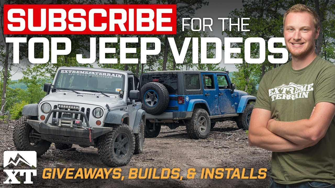 💥SUBSCRIBE For Daily Jeep Wrangler Videos, Win Free Jeep Parts,  Off Roading, U0026 Builds! 💥