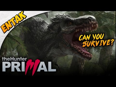 theHunter: Primal Gameplay ➤ Starting Out vs Utahraptor - Can You Survive? [The Hunter Primal #1]