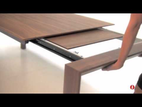 Omnia Wood Dining Table CS4058 by Calligaris  YouTube