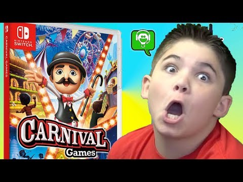 NEW 2K Carnival Games With The HobbyFamily! Step Right Up!