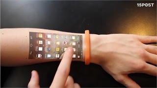 Esta pulsera convierte tu piel en la pantalla de tu teléfono - 15 POST