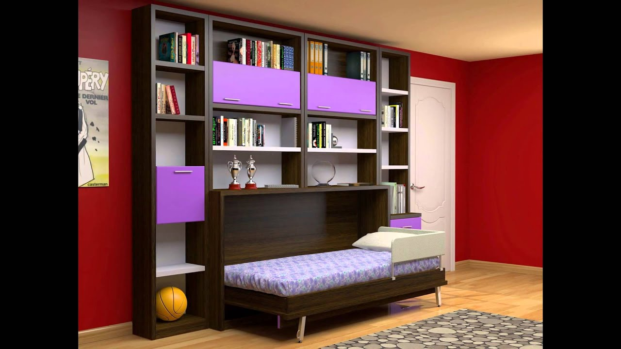Camas abatibles camas empotradas de pared muebles juveniles en madrid youtube - Muebles cama plegables para salon ...