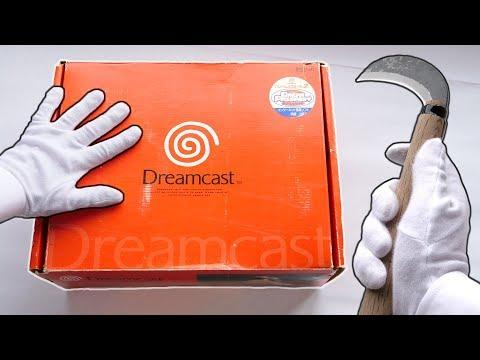 DREAMCAST UNBOXING! Original SEGA Dreamcast Console + Resident Evil 2 Gameplay