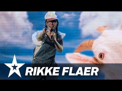 Rikke Flaer  I Danmark har talent 2018 I Liveshow 4
