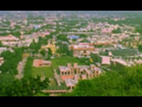 The city of Palitana in Gujarat
