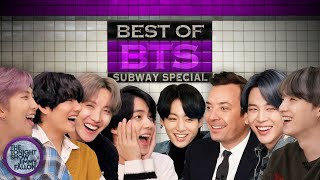 Best of BTS Tonight Show Subway Special